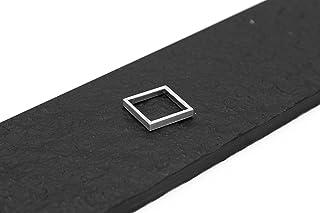 Anello quadrato in alluminio
