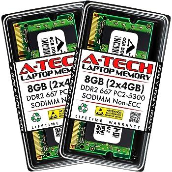 PARTS-QUICK BRAND DDR2 PC2-5300 667MHz DIMM NON-ECC RAM Upgrade FSB1333 2GB Memory for MSI Motherboard 945GCM5 V2