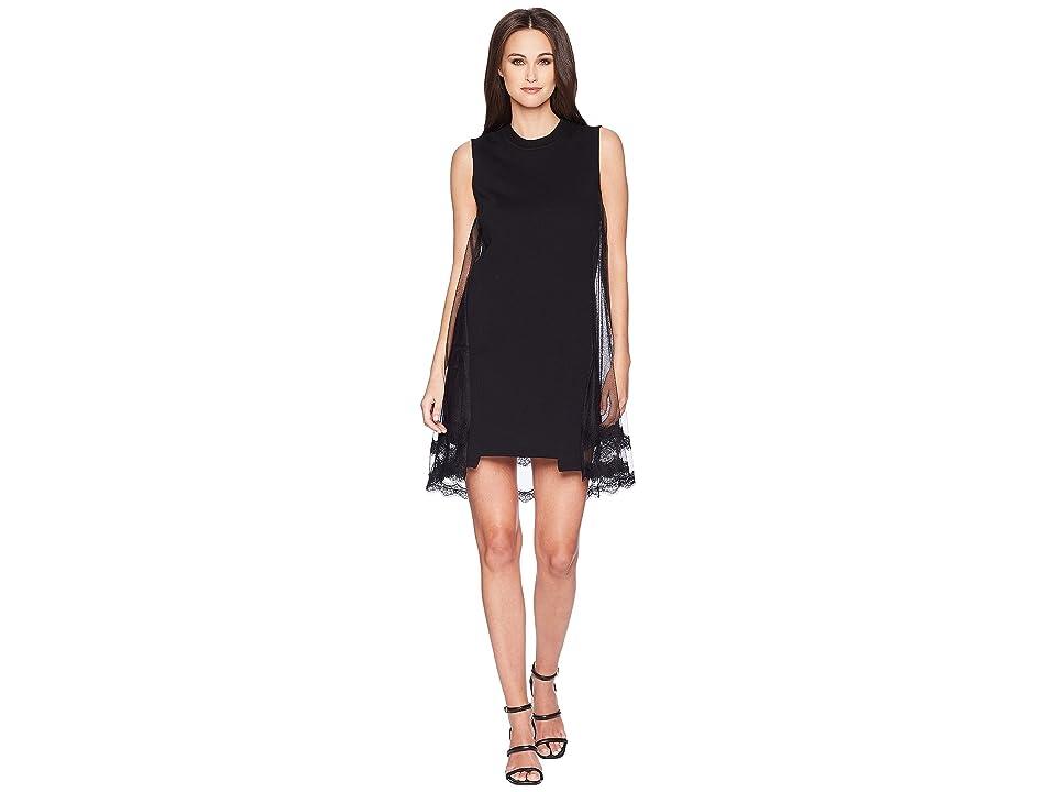 McQ Goth Hybrid Dress (Darkest Black) Women