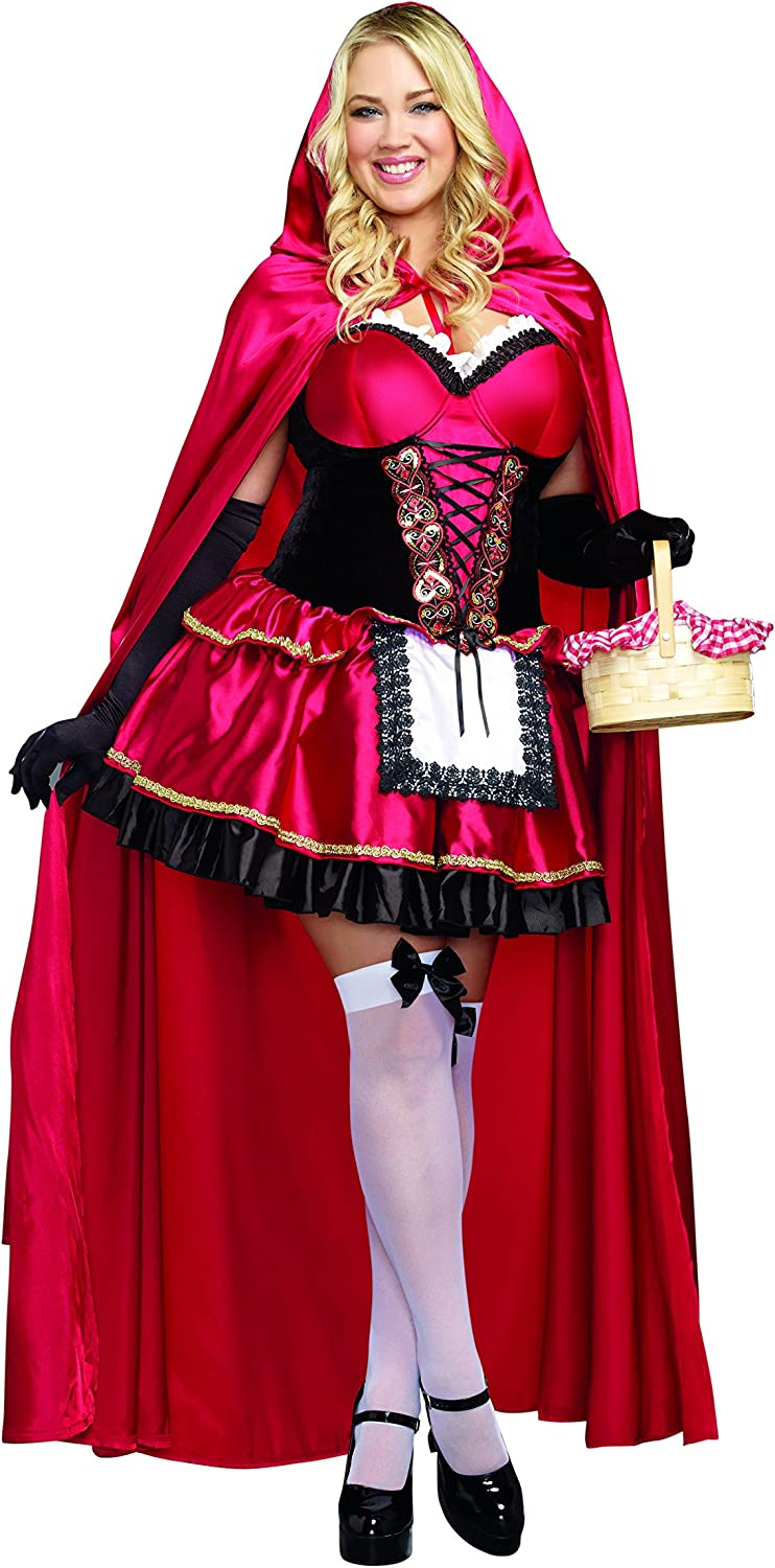 Dreamgirl Women's Plus-Size Little Hood Red Riding Max 51% OFF Costume Minneapolis Mall