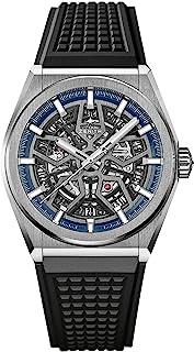 Zenith - Defy 95.9000.670/78.R782 - Reloj de pulsera (titanio), color azul