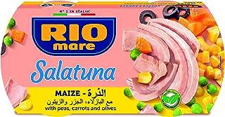 ريوماري سلطة الخضار بالذرة مع التونة عبوة خاصة ، 160 جم * 2 حبة