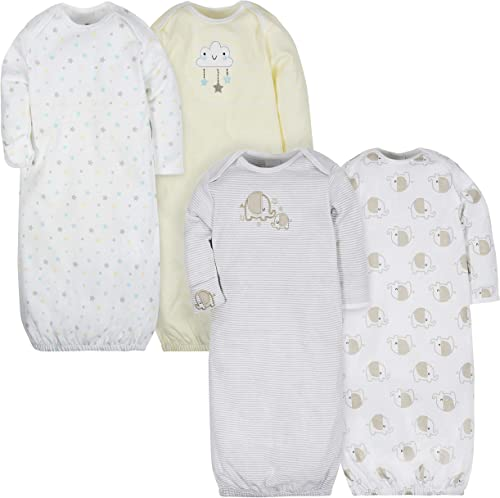 Gerber Baby 4-Pack Gown