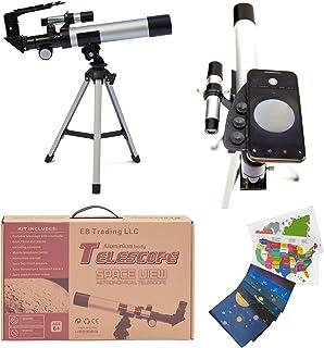 EB Space Kid's Explorer Telescope Gift Kit w Eco Carry Case | Children &..