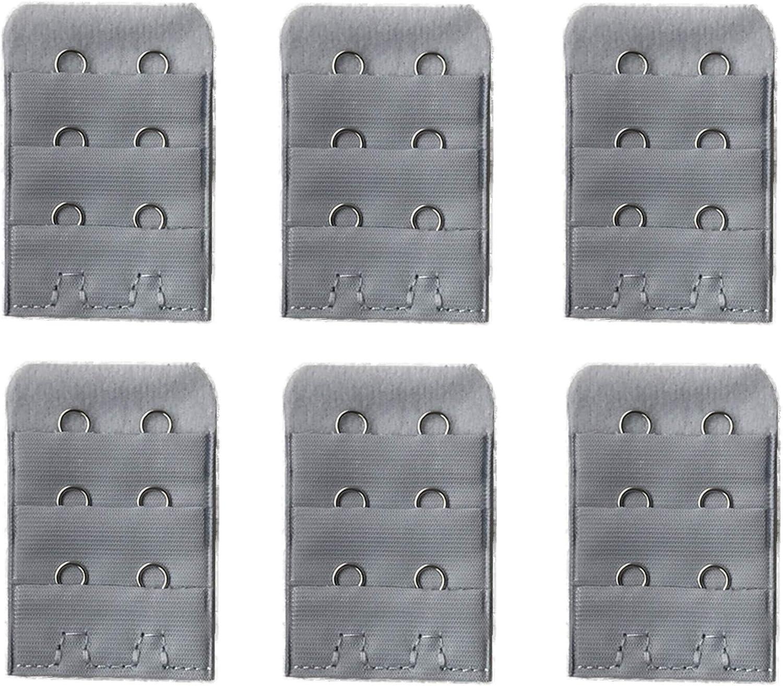 Home-Organizer Tech 6 Packs Bra Great interest Comfortable 2 Soft 100% quality warranty Extender Hook