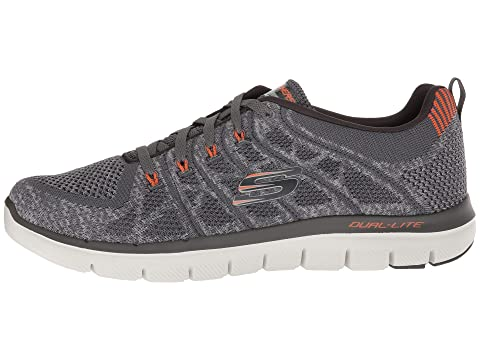 SKECHERS Talamo Black 0 2 Flex WhiteCharcoalNavy Advantage rwCPrq