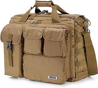 "Lifewit 17"" Men's Military Laptop Messenger Bag Multifunction Tactical Briefcase Computer Shoulder Handbags"