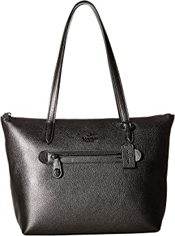 Taylor Tote in Metallic Leather