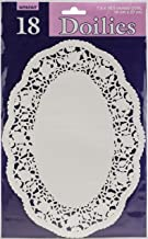 White Oval Doilies Party Supply