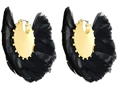 Kate Spade New York In Full Feather Hoops