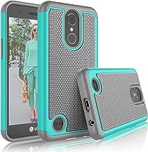 Tekcoo LG K20 V/LG K20 Plus Case, Tekcoo LG Harmony/V5/K10 2017 Cute Case, [Tmajor] Shock Absorbing [Turquoise] Rubber Plastic Scratch Resistant Defender Bumper Rugged Slim Grip Hard Cover Cases