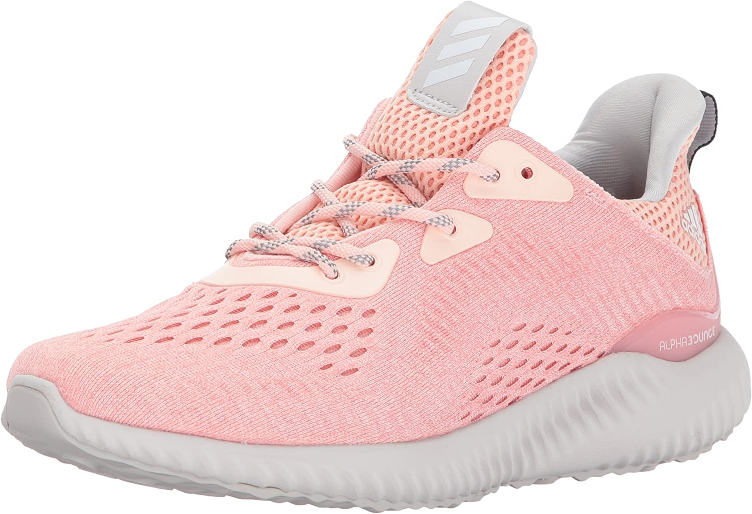 Adidas Damen Performance Alphabounce Em w Laufschuh, 9,5 Medium US 8 UK Ice Rosa Trace Rosa Grau One Wertvolle Boutique