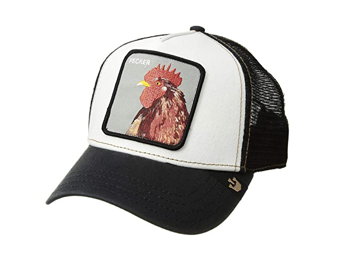 Goorin Brothers  Animal Farm Snap Back Trucker Hat (Black Plucker) Caps