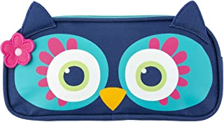 Stephen Joseph Girls' Pencil Pouch, Owl Kid's Backpack, Size