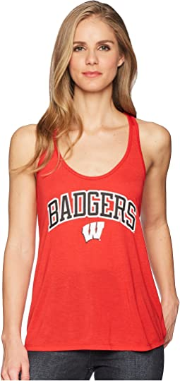 Wisconsin Badgers Eco® Swing Tank Top