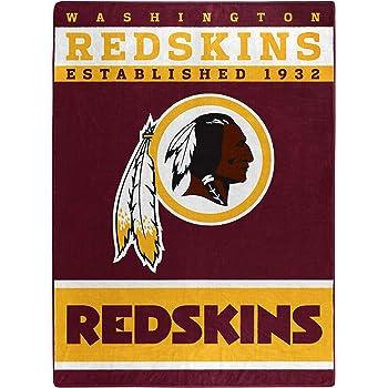 Northwest NFL Washington Redskins 50x60 Fleece Split Wide DesignBlanket Team Colors One Size