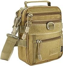 ProCase Tactical Gun Bag, Military Molle Gear Pistol Shoulder Strap Bag Handgun Ammo Accessories Pouch Shooting Range Duffle Bag for Hunting or Shooting Range Sport
