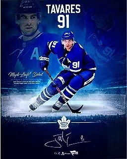John Tavares Toronto Maple Leafs Autographed 16