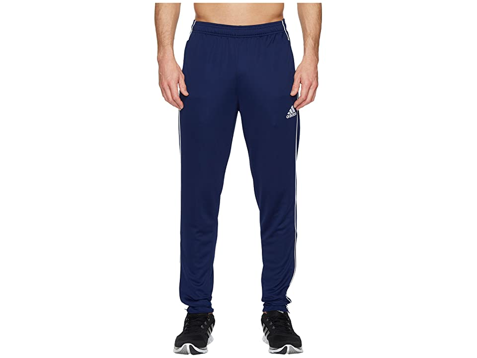 adidas Core18 Training Pants (Dark Blue/White) Men