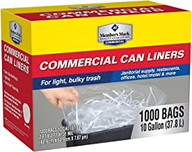 ProForce Commercial 7-10 gal. Trash Bags (1000 ct.)