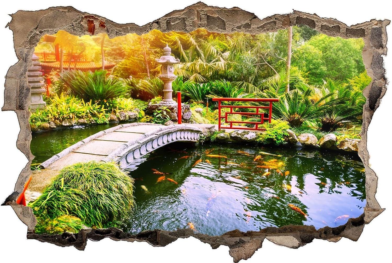 Japan Garten Landschaft Teich Wandtattoo Wandsticker Wandsticker Wandsticker Wandaufkleber D1166 Größe 100 cm x 150 cm B07BSF16X9 eadf92