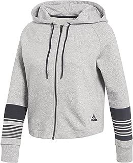 adidas Women's Sport ID Full Zip Hoodie Ladies