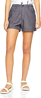 French Connection Women's Linen Short, Navy Marle