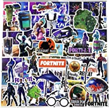 100 Pack Laptop Stickers for Fortnite Water Bottles Computer Party Favors Hydroflask Skateboard PS4 Popular Skins Games Fo...