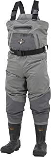 Frogg Toggs Steelheader Reinforced Nylon Breathable & Insulated Bootfoot Wader, Cleated or Felt Outsole