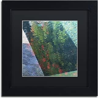 Inspired by Monet by Kurt Shaffer, Black Matte, Black Frame 11x11-Inch