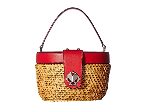 Kate Spade New York Rose Medium Top-Handle Basket