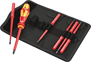 Wera 05003472001 VDE 60 I-65 I Kraftform Kompakt Changeable Blade 7 Piece) - Nut Drivers
