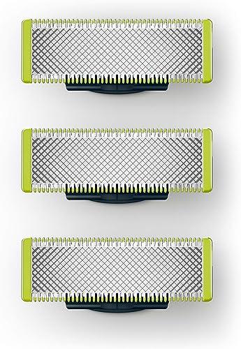 Philips QP230/50 Pack Lames OneBlade (X3), Compatibles avec tous les manches OneBlade