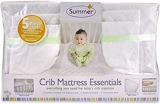 Summer 5-Piece Essentials Crib Mattress, White