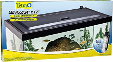 Tetra LED Aquarium Hood, Low Profile, Energy Efficient Hood with Lighting