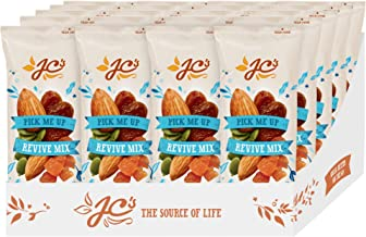 Revive Mix by J.C.'s Quality Foods - Premium Mix of Almonds, Pepitas, Apricots and Sultanas, Healthy Energy Boosting Snack - 20 x 30g Bags
