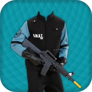 Police Suit Photo Maker for Man