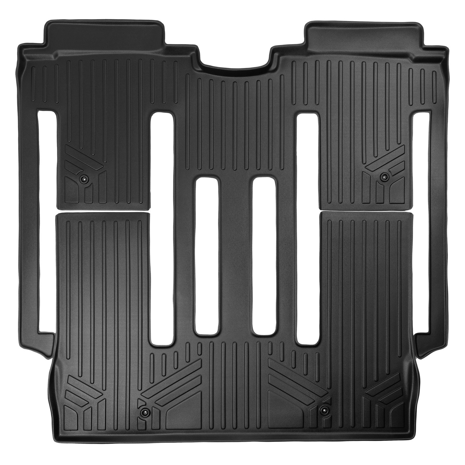 MAXLINER Floor Mats 2nd Row Liner Black for 2015-2018 Jeep Renegade