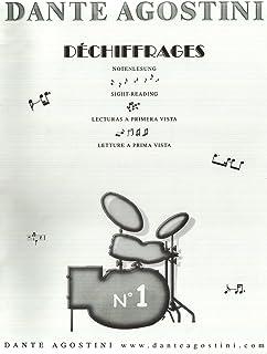 Preparation au Dechiffrage, Volume 1, Etudes Tres Faciles pour Débutants. Batterie