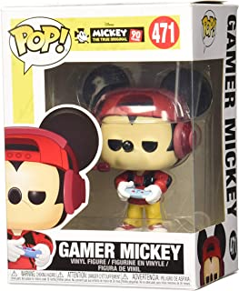 Funko POP! Disney: Mickey The True Original 90 Years - Gamer Mickey #471 - GameStop Exclusive!