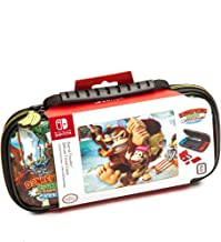 Nintendo Switch Donkey Kong Carrying Case – Protective Deluxe Travel Case – PU Leather Exterior – Official Nintendo Licensed Product