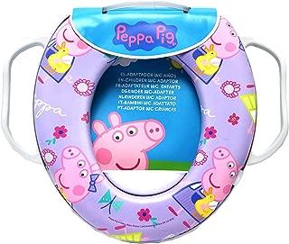 Potty Training Toilet Seat, Peppa Pig Toilet Seat Children's Soft Padded Toilet Seat(Training Seat)