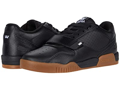Supra Breaker Low (Black/Gum) Men