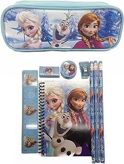 Disney Frozen Princess Anna Elsa & Olaf Combo Stationary Set + Pencil Pouch