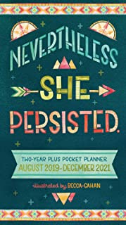 She Persisted 2020 Two-Year-Plus Pocket Planner: August 2019 - December 2021