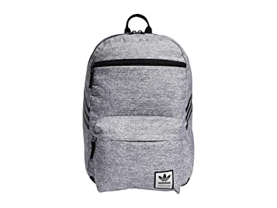 adidas Originals Originals National SST Recycled Backpack (Jersey Grey/Black) Backpack Bags
