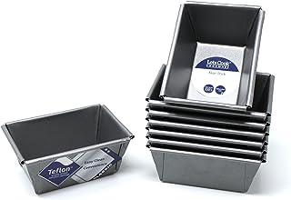Mini molde latas, juego de 8, con teflón TM antiadherente, British fabricado por