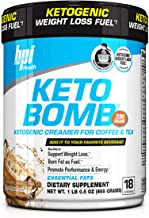 BPI Keto Bomb Ketogenic Creamer for Coffee and Tea Keto Diet Weight Loss Supplement Low Carb MCT Oil Ideal for Bulletproof Coffee 18 Servings 16 5 oz Caramel Macchiato Estimated Price : £ 24,99