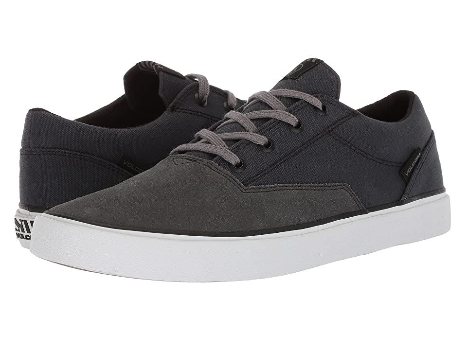 Volcom Draw Lo Suede Shoes (Grey Vintage) Men
