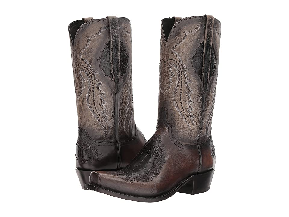 Lucchese Bryson (Anthracite) Cowboy Boots